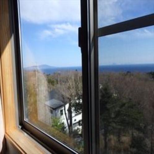【202,203,205,206号室】海側のお部屋からの眺めは圧巻です!
