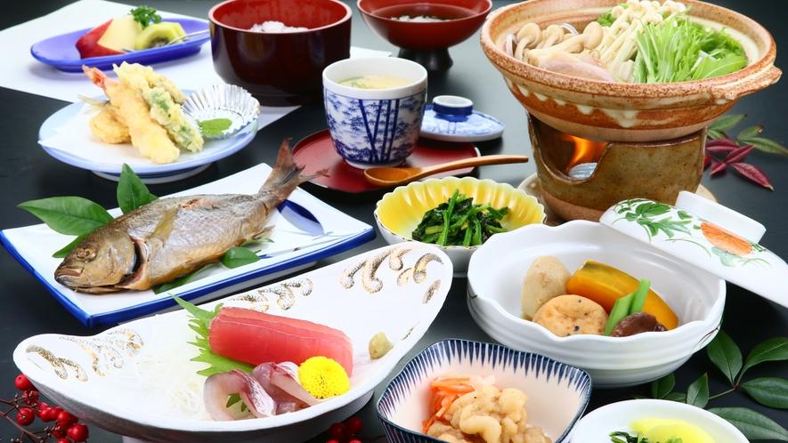 旬菜会席◆季節に応じて内容が変更する場合がございます