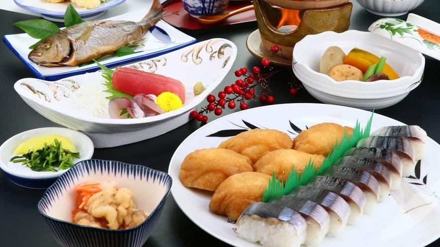 秋刀魚鮨会席◆人気NO.1!三重にきたら食べたいコース