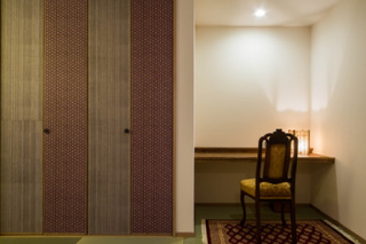 2F寝室:寝室は一部屋です。