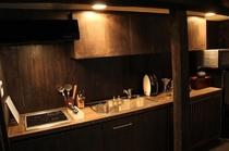 晴耕 キッチン