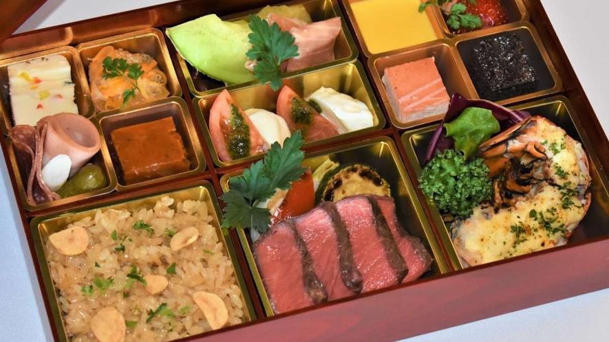 【洋食】夕食弁当 イメージ