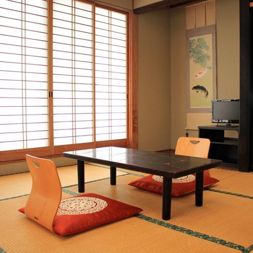 客室はすべて和室の落ち着いたお部屋です。