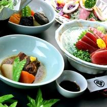 お料理一例◆旬の味覚を、旬の時季に。