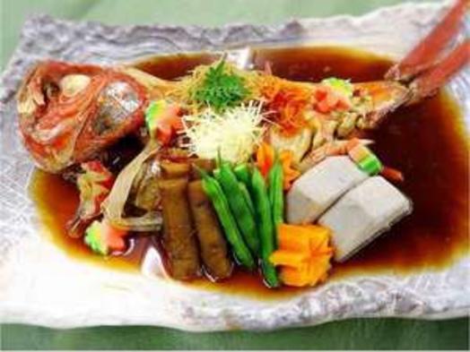 「贅沢二食付」 伊豆のとれたて金目鯛 金目鯛姿煮付プラン