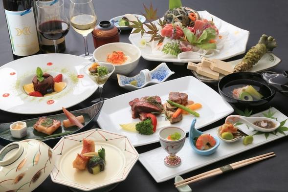 「贅沢二食付」 伊勢海老か!アワビか!選べる 夕食グレードアッププラン