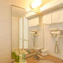 *客室一例/タオル、ドライヤー、シャンプー類完備