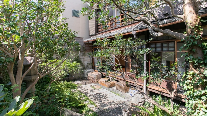 【ショートステイプラン】縁側からお庭をお楽しみください