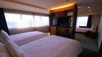 プレミアツインルーム ベッド3台