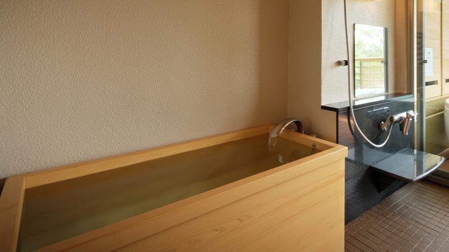 【次郎の庵・2階】20帖の露天風呂付きモダン和洋室◆癒しのひと時を堪能 ※温泉ではございません