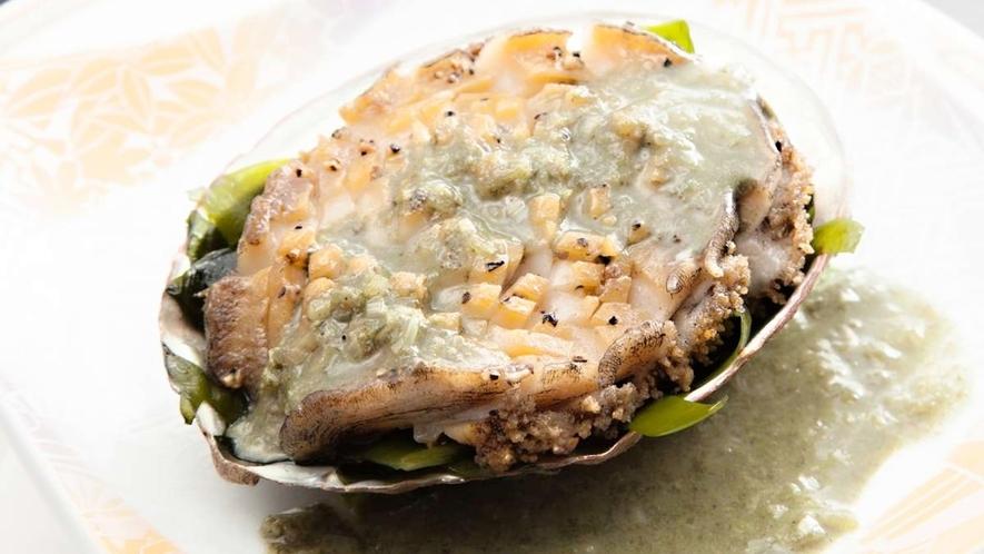 【ある日のお料理一例】田老産鮑のステーキ