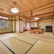 *【客室一例】和室18畳(2間)/グループ利用におすすめの広いお部屋です
