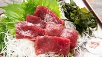 *【ご夕食一例】別注料理/ダチョウのお刺身