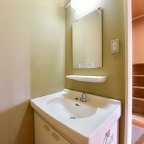 *【客室一例】和室18畳(2間)/洗面台