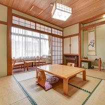 *【客室一例】和室8畳(BT付/眺望富士山)