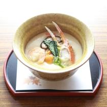 蟹料理(茶碗蒸しの一例です)