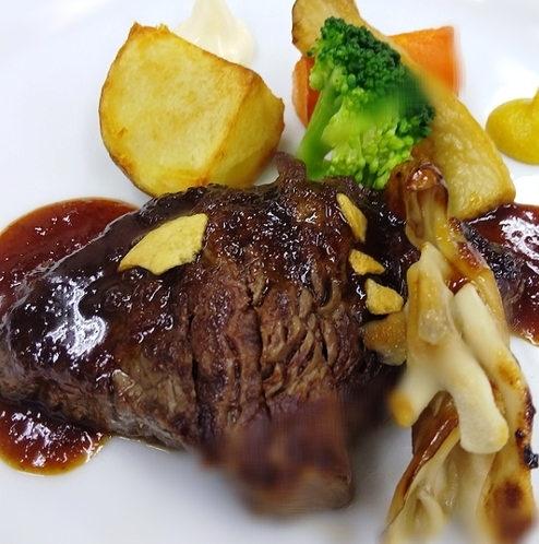 若竹荘肉料理(一例です)