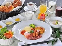 朝食(洋食のみです)例