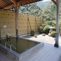 露天風呂(静かな山の中で羽を伸ばしてくださいね)