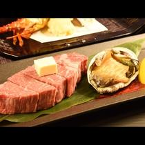 伊勢海老・あわび・熊野牛ヘレの3大味覚が楽しめるプラン