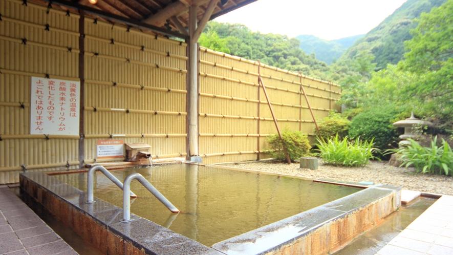 『露天風呂』静かな山の中で羽を伸ばしてくださいね