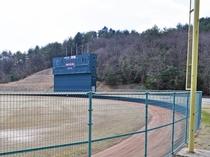 【豊平総合運動公園】どんぐりスタジアム
