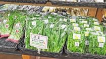 【ふるさとの家】みずみずしい新鮮な野菜が並んでいます