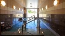 【龍頭の湯】龍頭山の麓 地下500Mから湧き出る冷鉱泉を沸かした天然ラドン温泉です。