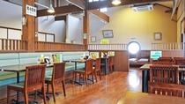 【お食事処・喫茶「龍頭の里」】12のテーブル席と3つの座敷席がございます