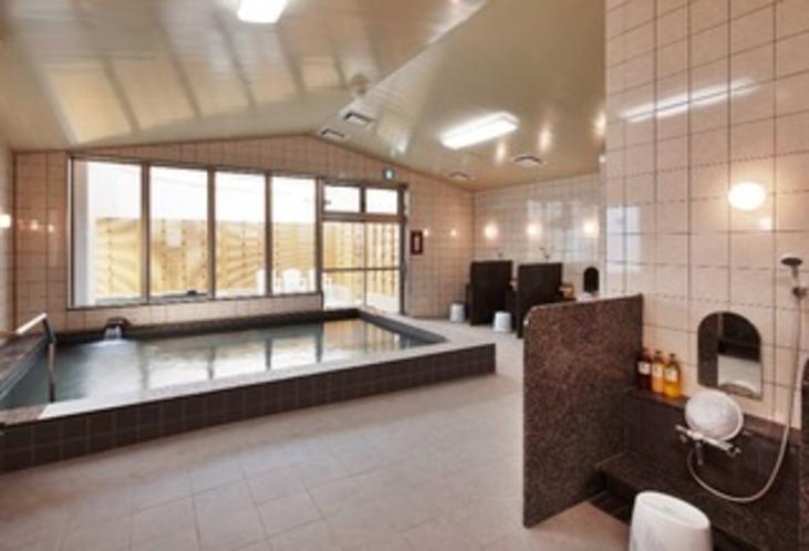大浴場完備!