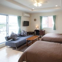 2階 ツインルーム(寝室は4つ、10名様宿泊可)