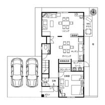 かりゆしコンドミニアムリゾートうるま レジデンシャル・デル・ソル平面図(1階)ゆったり4LDK仕様