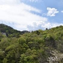 奥鬼怒渓谷の景観