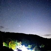川俣に昇るスバル(プレアデス星団)