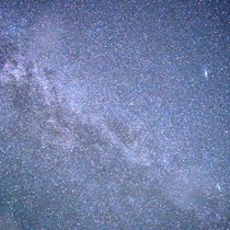 天の川(カシオペアからアンドロメダ星雲付近)