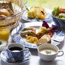 おいしい朝食をお腹いっぱい召し上がれ♪