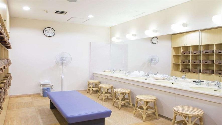 ◆大浴場脱衣室