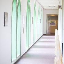 ◆ロビーの廊下