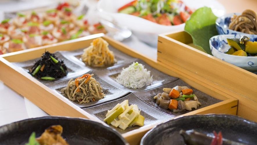◆朝食ビュッフェ一例