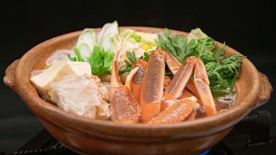 カニフルコース 鍋物