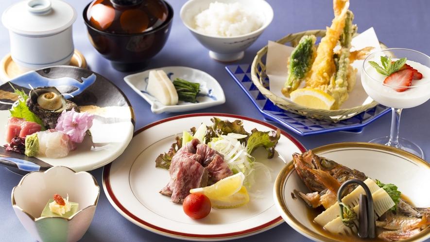 ◆夕食会席の一例