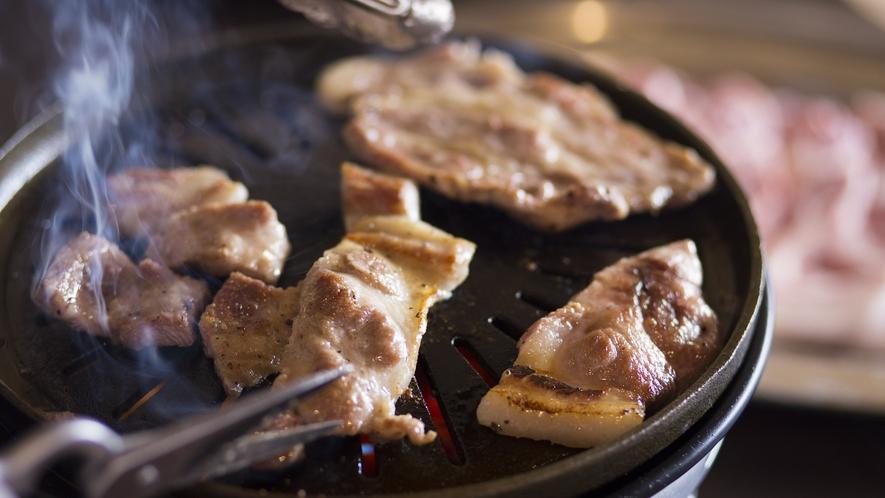 ◆トン'Sキッチン「京丹波高原豚」のバーベキュー