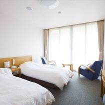 ◆園内が望める洋室ツインルーム