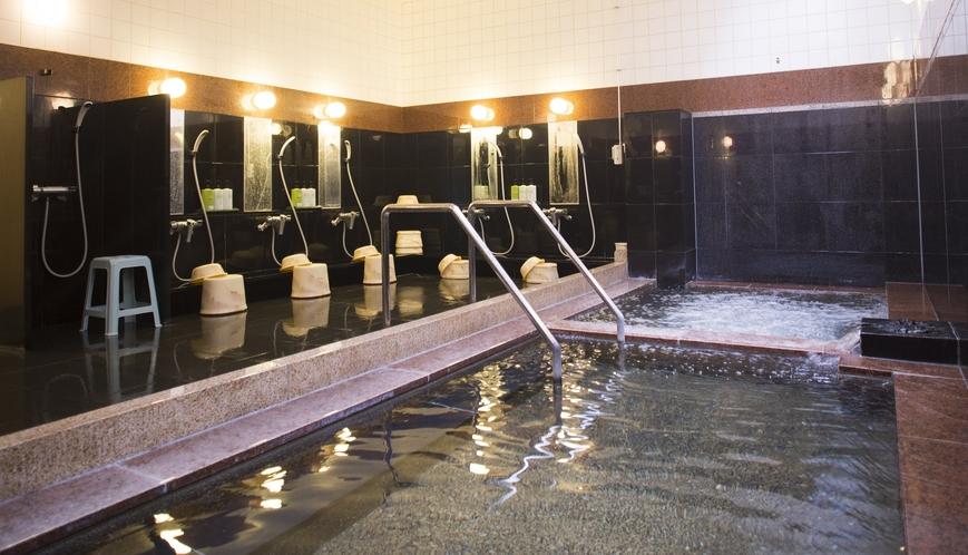 ◆天然のラジウム温泉大浴場