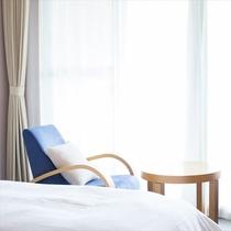◆ベランダ付きの洋室ツインルーム