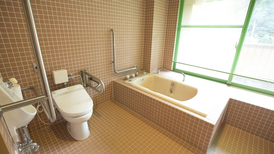 ◆バリアフリーツインルーム(浴室)