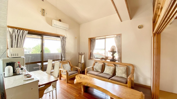 Cottage B with BBQ deck/〜5名
