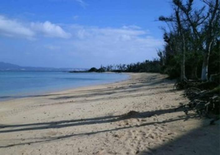 伊武部のビーチ