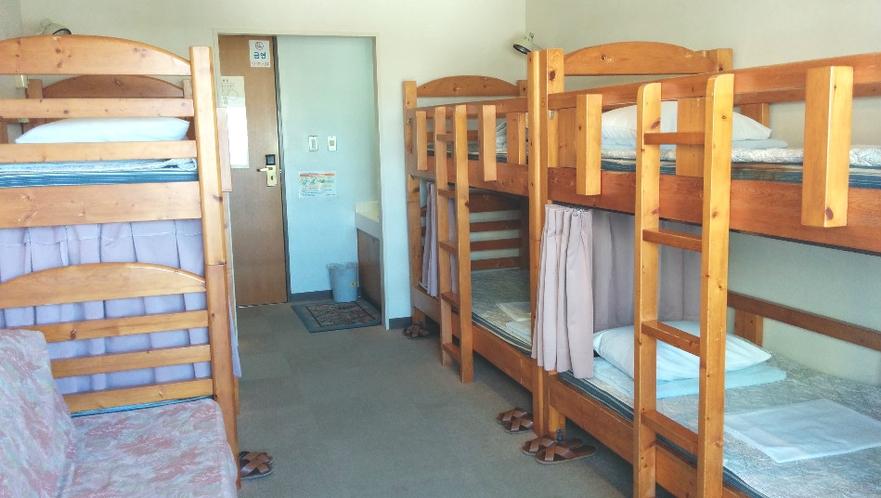 2段ベッド部屋