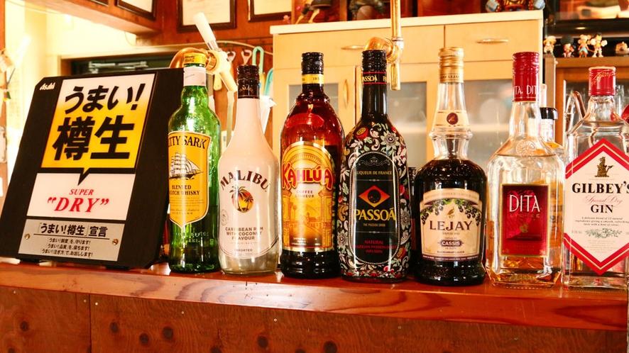 ◆お酒の種類豊富♪東松館の敷地内にある居料理や(いろりや)で食事して東松館で寝泊まりできちゃいます☆